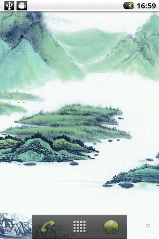 水墨风景动态壁纸                       精选多张水墨山水风景高清