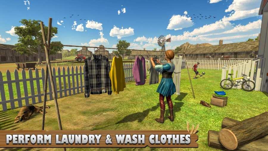 虚拟农场:家庭娱乐农业游戏截图1