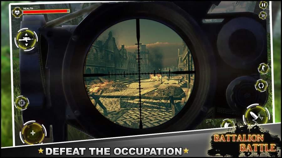 营战斗 :战争 射击任务截图0
