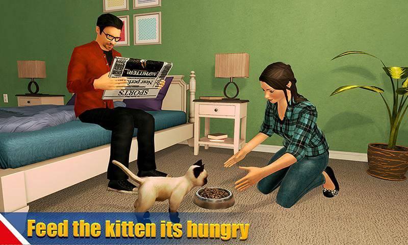 虚拟狗宠物猫家冒险家庭宠物游戏截图0