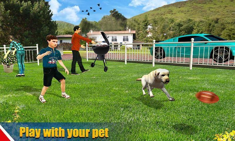 虚拟狗宠物猫家冒险家庭宠物游戏截图1