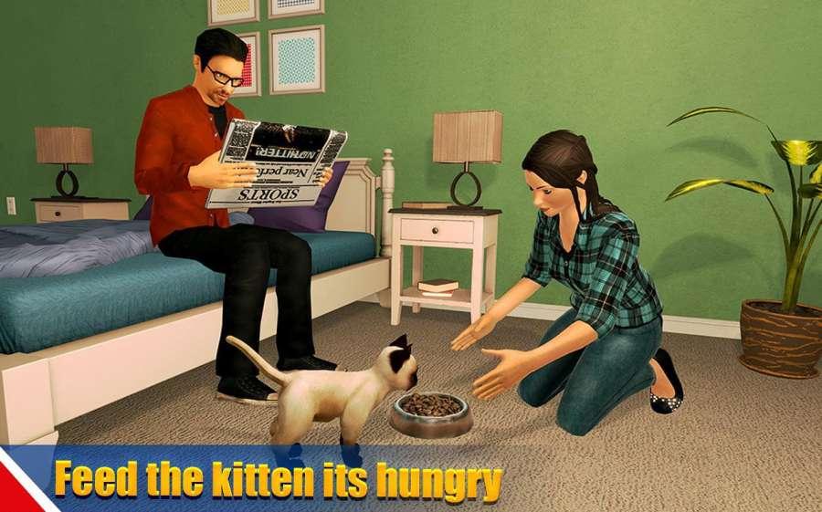 虚拟狗宠物猫家冒险家庭宠物游戏截图2