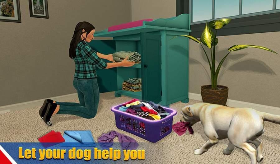 虚拟狗宠物猫家冒险家庭宠物游戏截图3