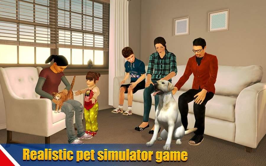 虚拟狗宠物猫家冒险家庭宠物游戏截图5