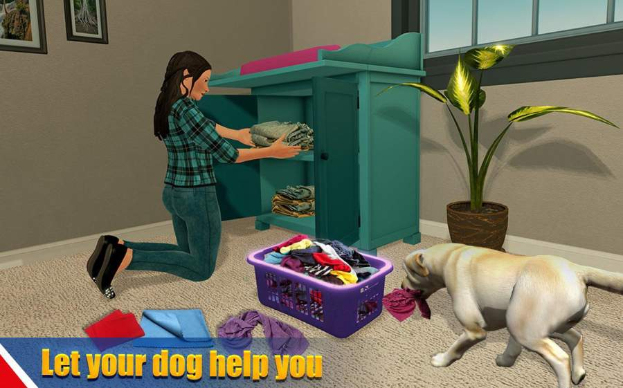 虚拟狗宠物猫家冒险家庭宠物游戏截图7