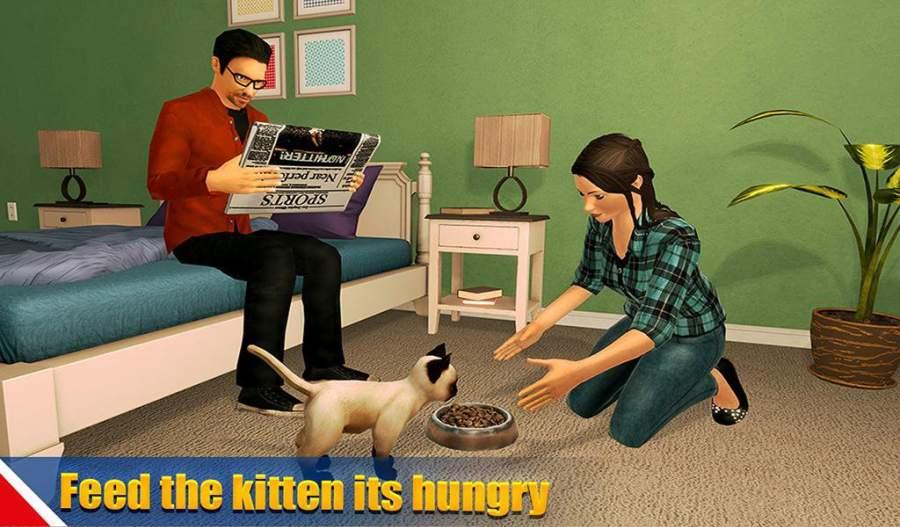 虚拟狗宠物猫家冒险家庭宠物游戏截图9