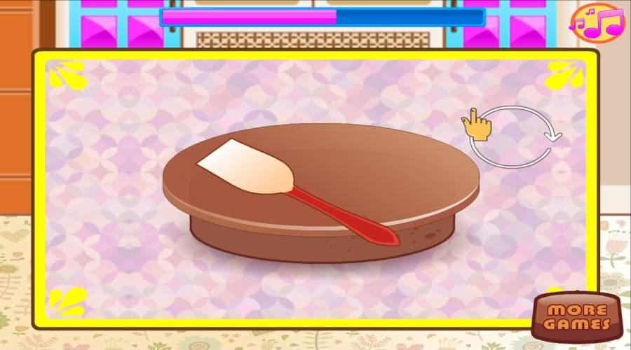 烘焙和烹饪巧克力蛋糕:女孩乐趣面包店截图4