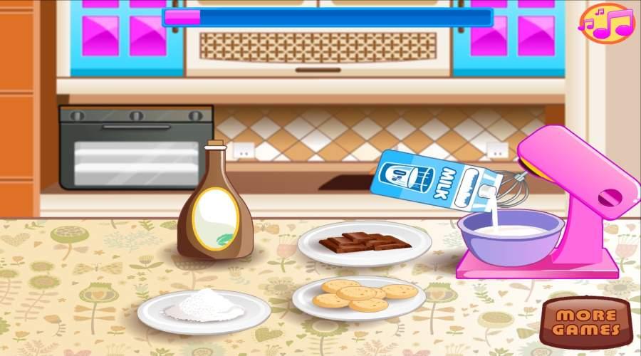 烘焙和烹饪巧克力蛋糕:女孩乐趣面包店截图5