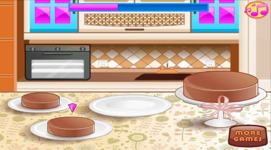 烘焙和烹饪巧克力蛋糕:女孩乐趣面包店截图7