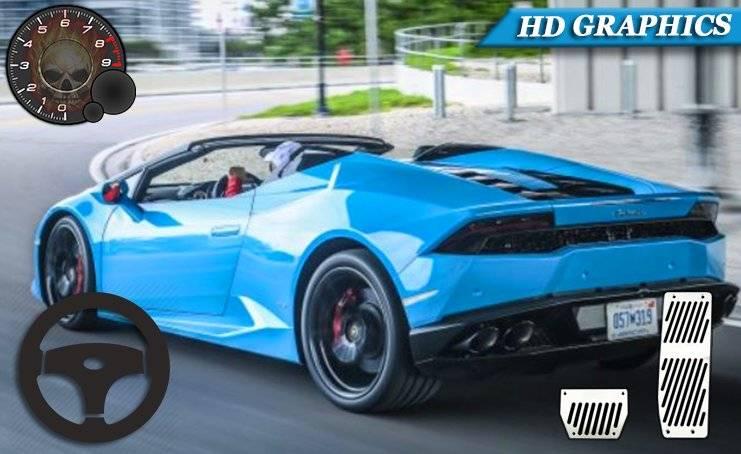 兰博基尼赛车模拟器