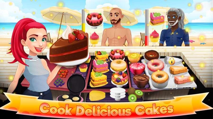 甜点烹饪蛋糕制造商:美味的烘焙游戏