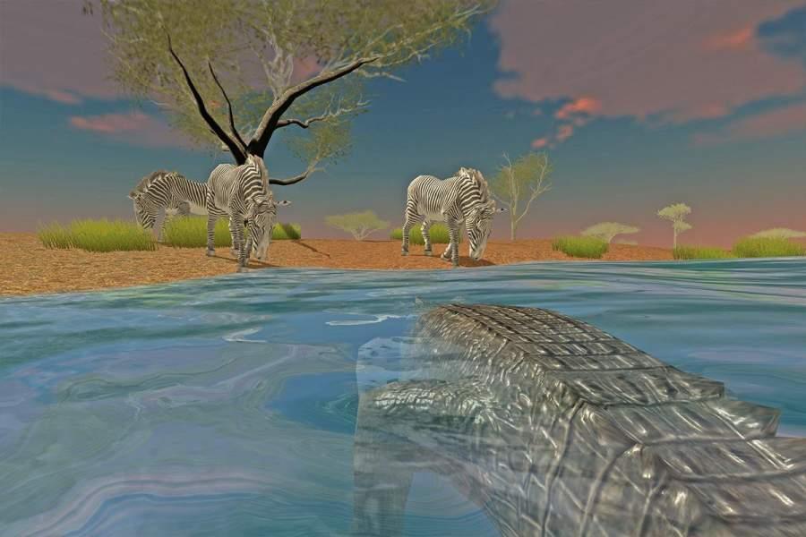 鳄鱼家庭模拟