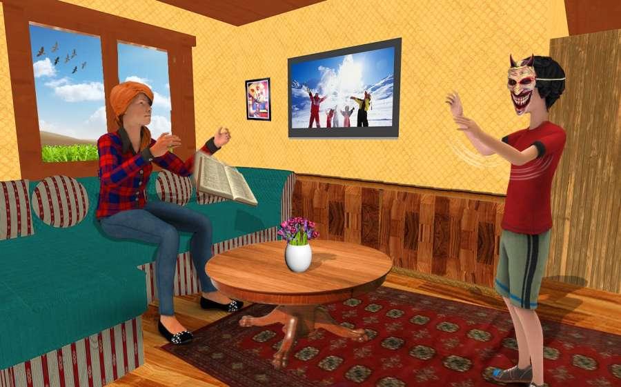 虚拟幸福家庭 - 妈妈和爸爸冒险2018截图0