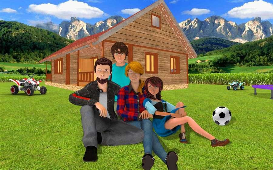 虚拟幸福家庭 - 妈妈和爸爸冒险2018截图3