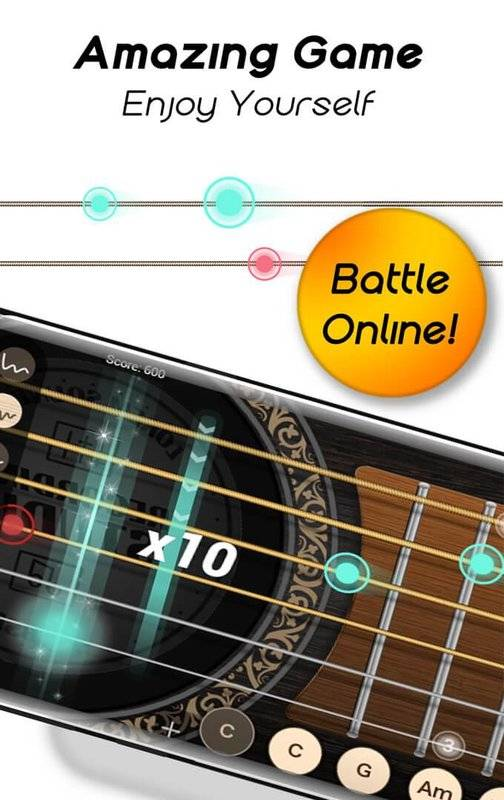 Real Guitar for Free-Rhythm Game & Chords & Tiles截图0