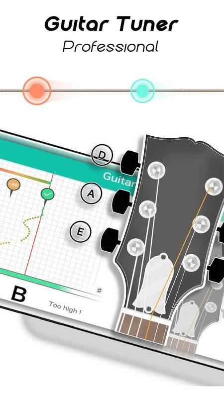 Real Guitar for Free-Rhythm Game & Chords & Tiles截图3