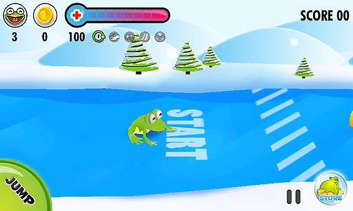 冰上青蛙 動作 App-愛順發玩APP