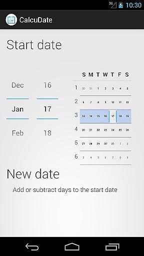 日期计算截图0