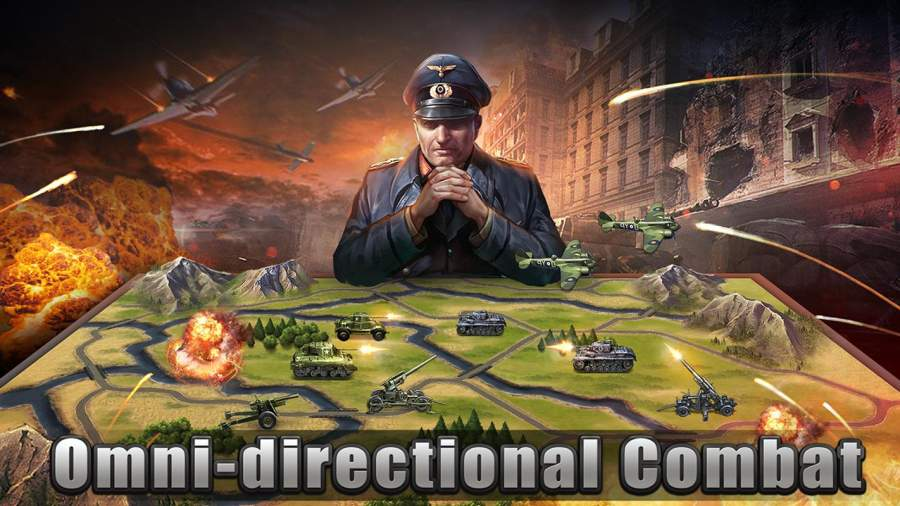 WW2: Strategy Commander Conquer Frontline截图0