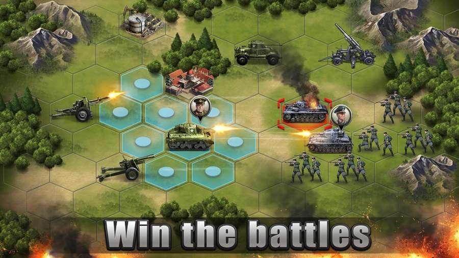 WW2: Strategy Commander Conquer Frontline截图2