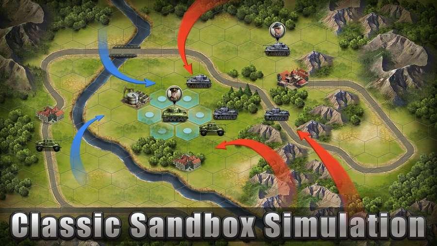 WW2: Strategy Commander Conquer Frontline截图9