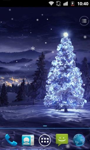浪漫圣诞夜动态壁纸
