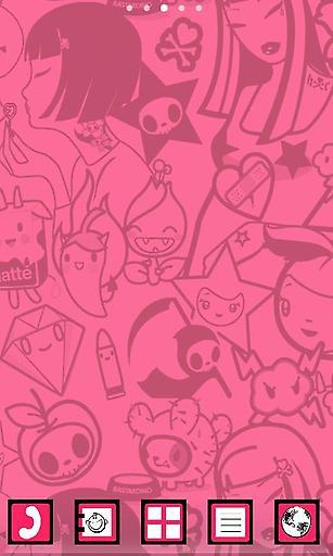 诱人的粉色系涂鸦