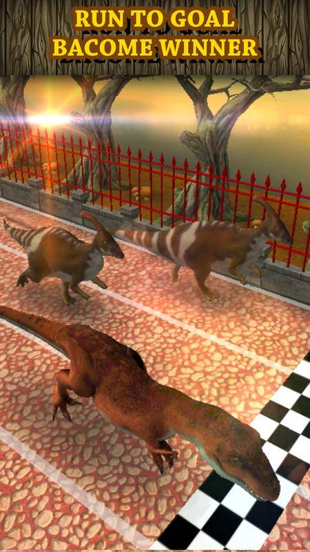 恐龙赛车虚拟宠物:Tyrannosaurus截图0