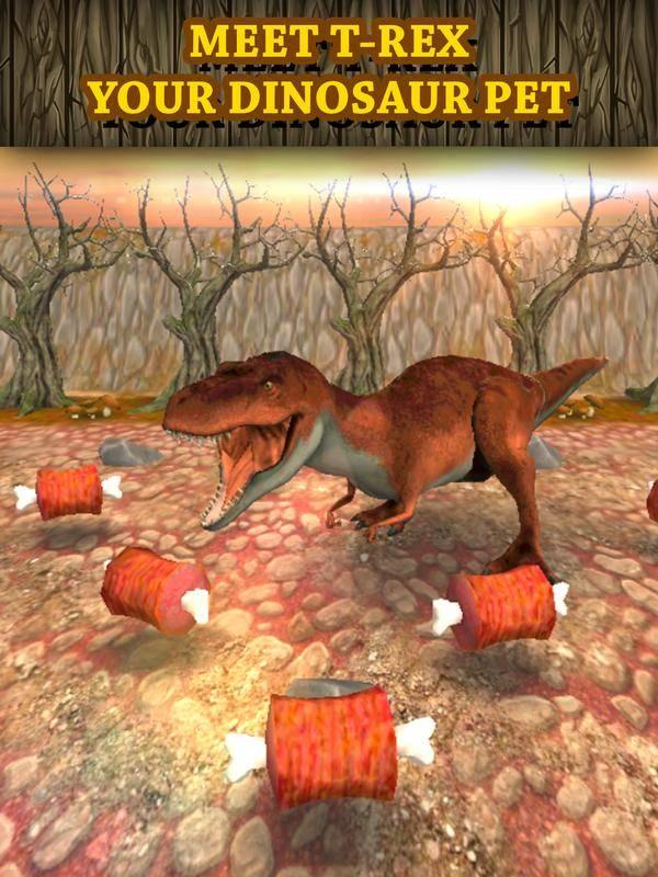 恐龙赛车虚拟宠物:Tyrannosaurus截图2