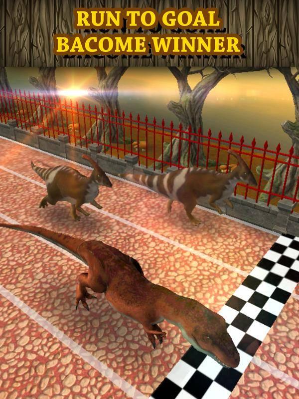恐龙赛车虚拟宠物:Tyrannosaurus截图4