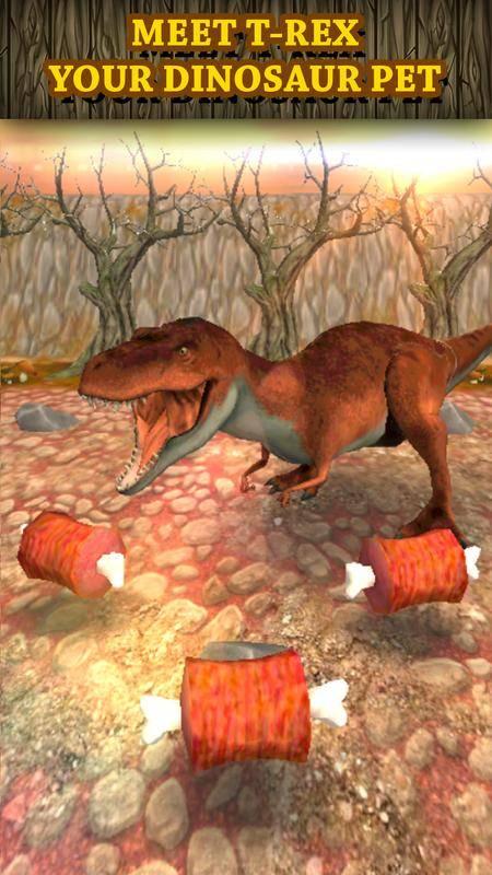 恐龙赛车虚拟宠物:Tyrannosaurus截图5