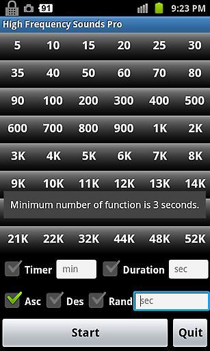 【免費生活App】高频率的声音临-APP點子