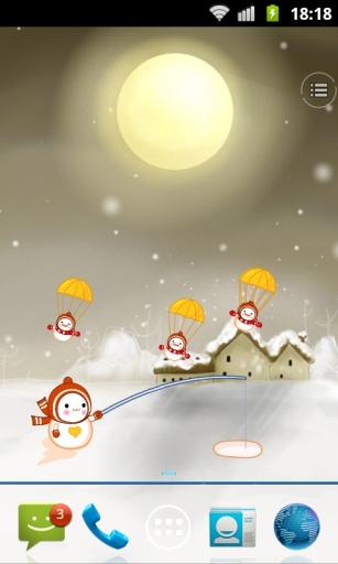 动感雪人动态壁纸 個人化 App-癮科技App