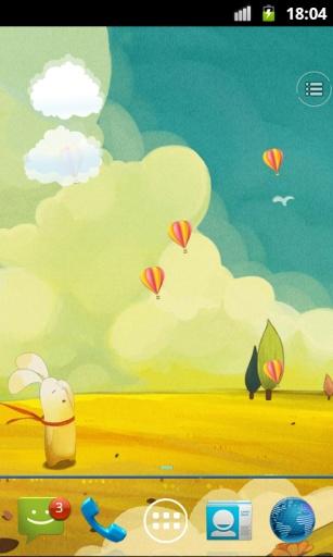 热气球动态壁纸