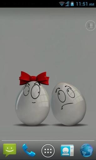 甜蜜蛋方动态壁纸