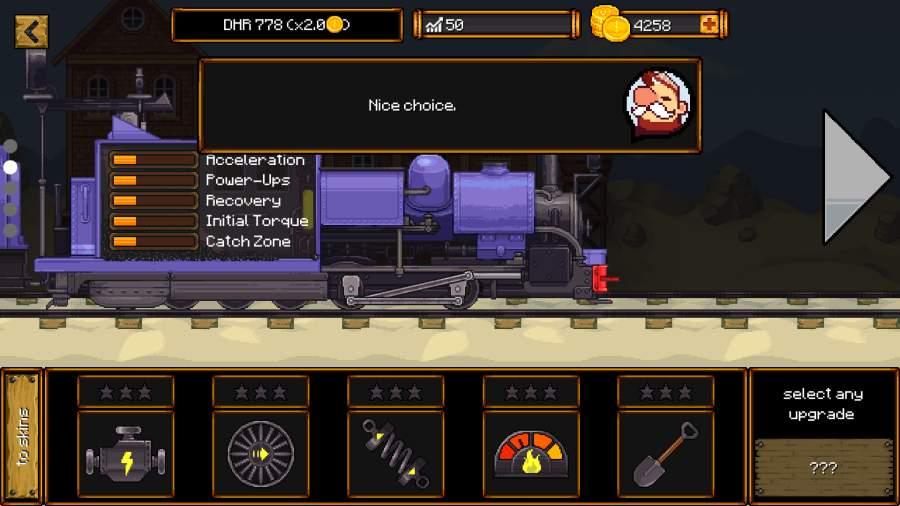 蒸汽火车赛截图0