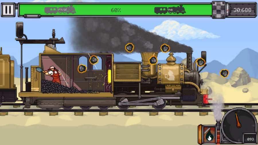 蒸汽火车赛截图2