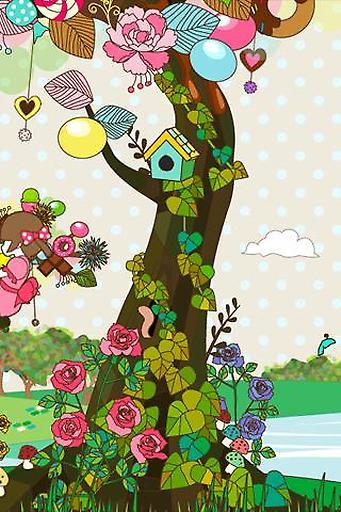 甜蜜树动态壁纸免费版截图3