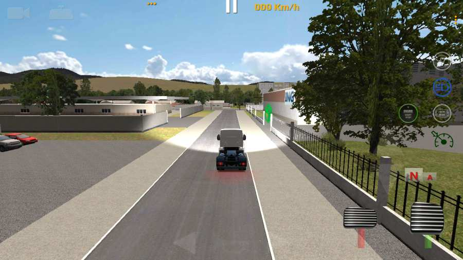世界卡车驾驶模拟器截图4