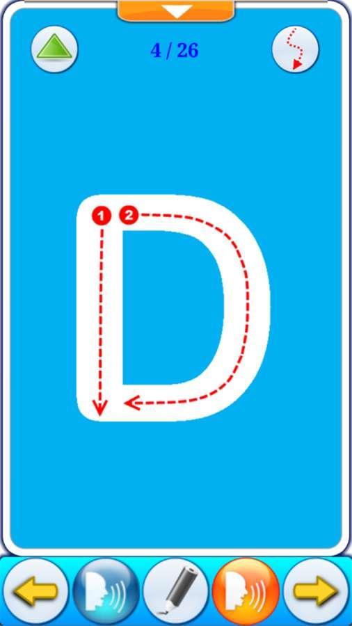 ABC字母学习卡