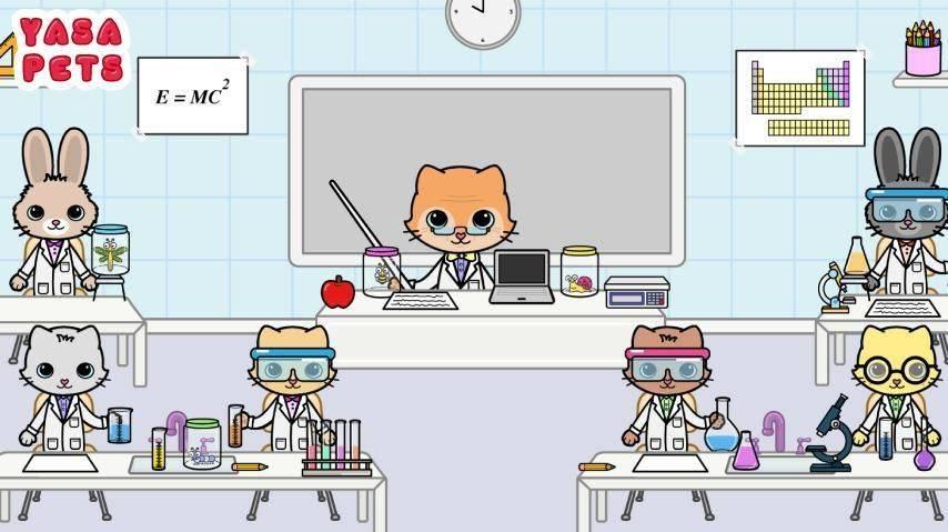 亚萨宠物:学校
