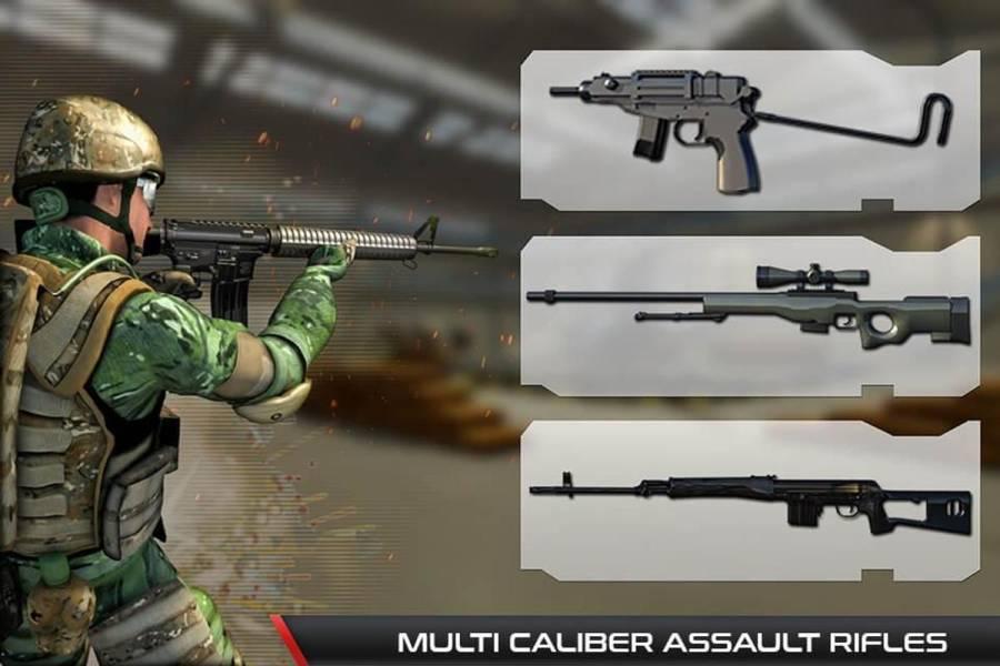 反恐怖射击游戏 - 枪射击截图0