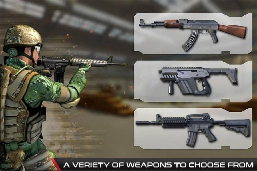 反恐怖射击游戏 - 枪射击截图3