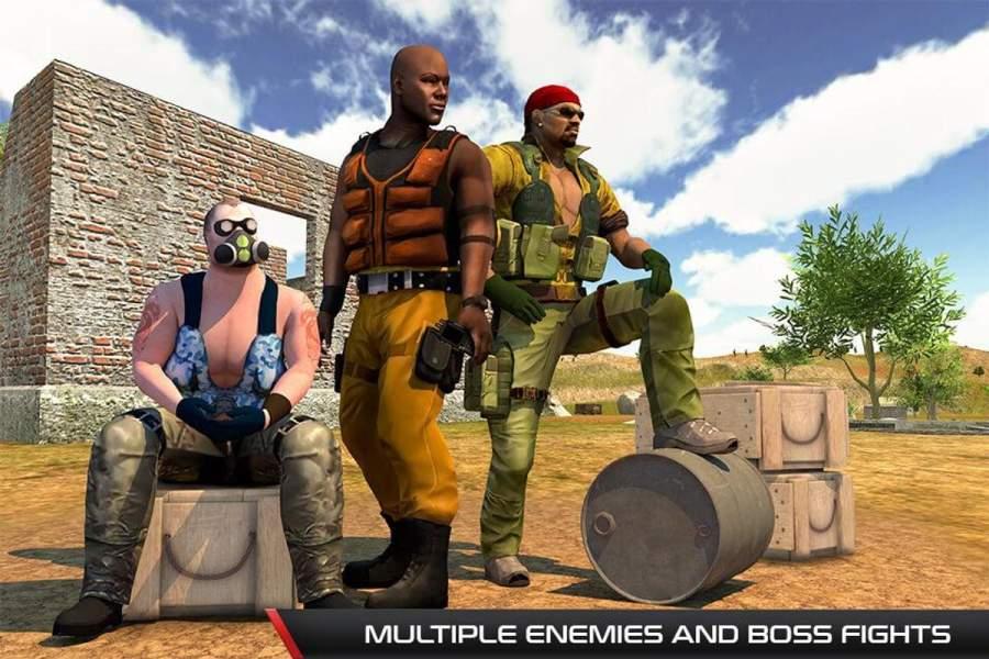 反恐怖射击游戏 - 枪射击截图4