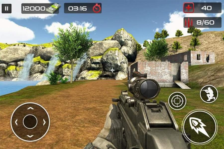 反恐怖射击游戏 - 枪射击截图5