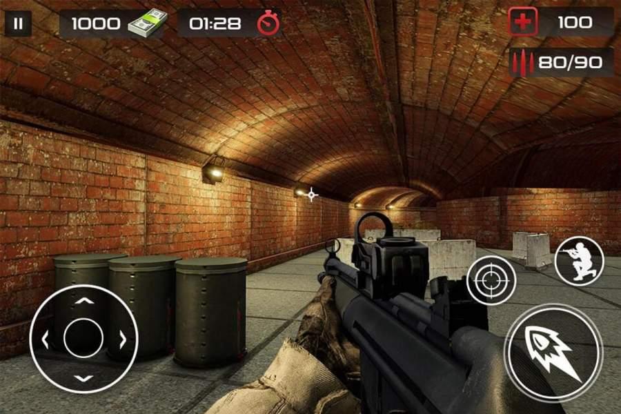 反恐怖射击游戏 - 枪射击截图6