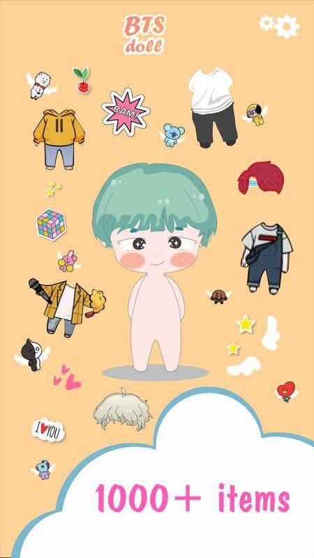 BTS Oppa Doll 防弹少年团捏脸截图3