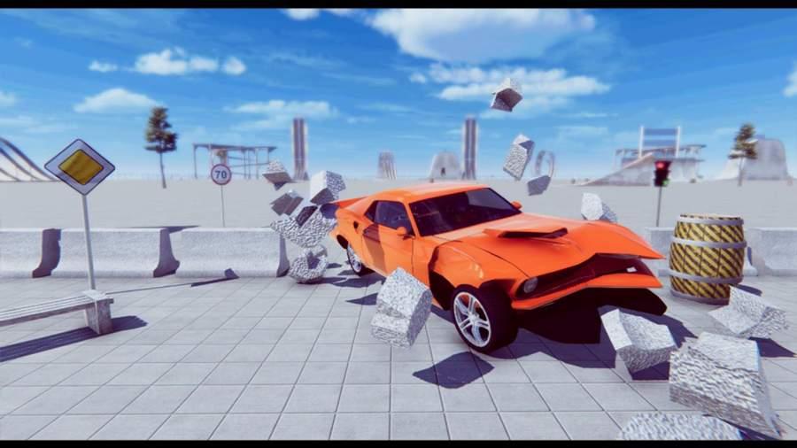 汽车 坠毁 拆除 德比 模拟器截图1