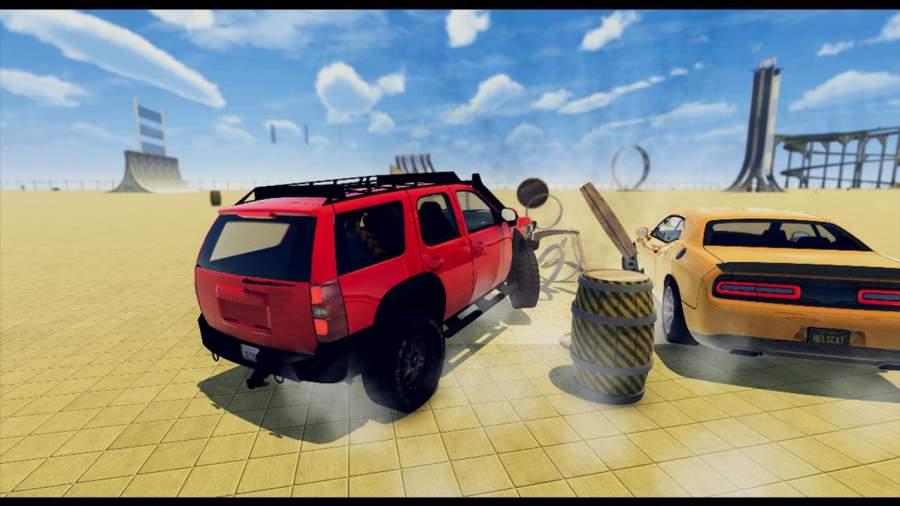 汽车 坠毁 拆除 德比 模拟器截图2