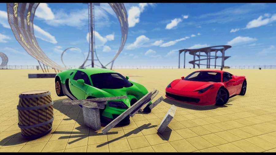 汽车 坠毁 拆除 德比 模拟器截图4